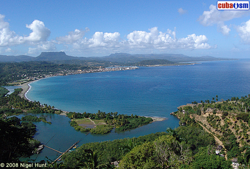 Baracoa Bay Large View