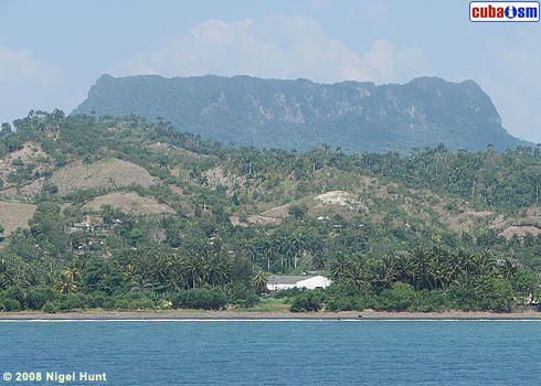 El Yunque from Baracoa Bay