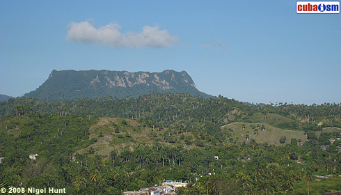 El Yunque from Baracoa City