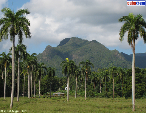 Baracoa, mountains landscape